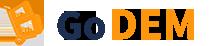 Logo GoDem, déménagement pas cher