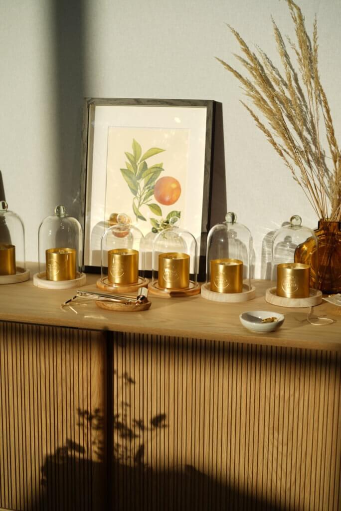 accessoires bougie parfumée maison shiiba