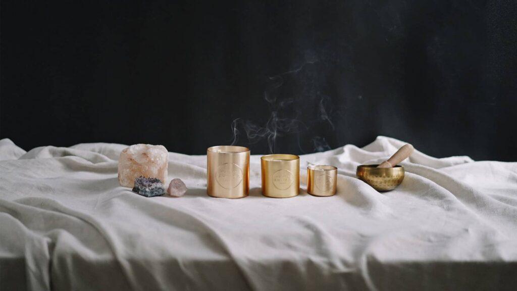 Fournisseur de bougies parfumées à message personnalisé